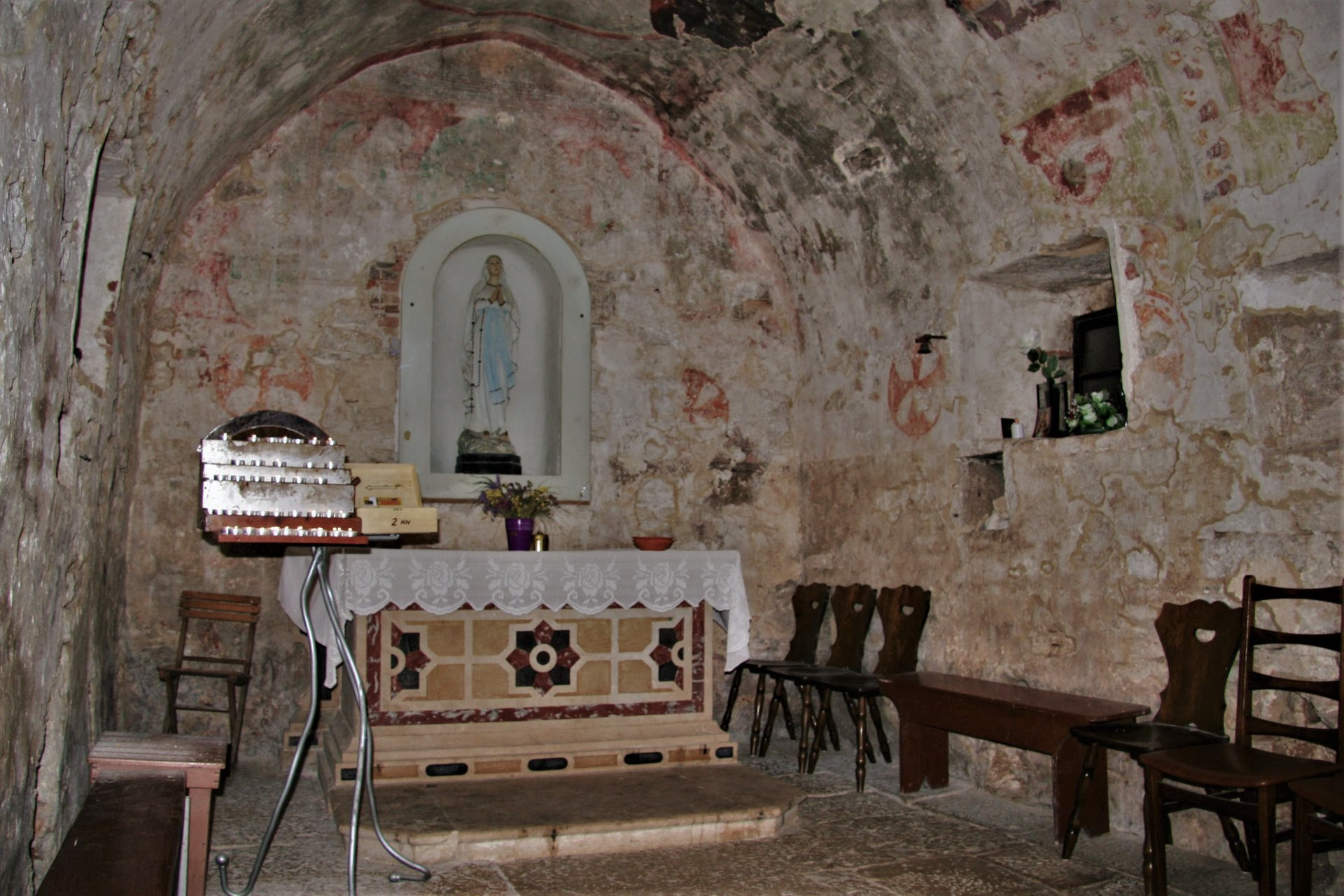 Istria places Fazana church Madonetta