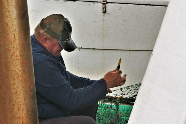 Istria places Fazana fisherman