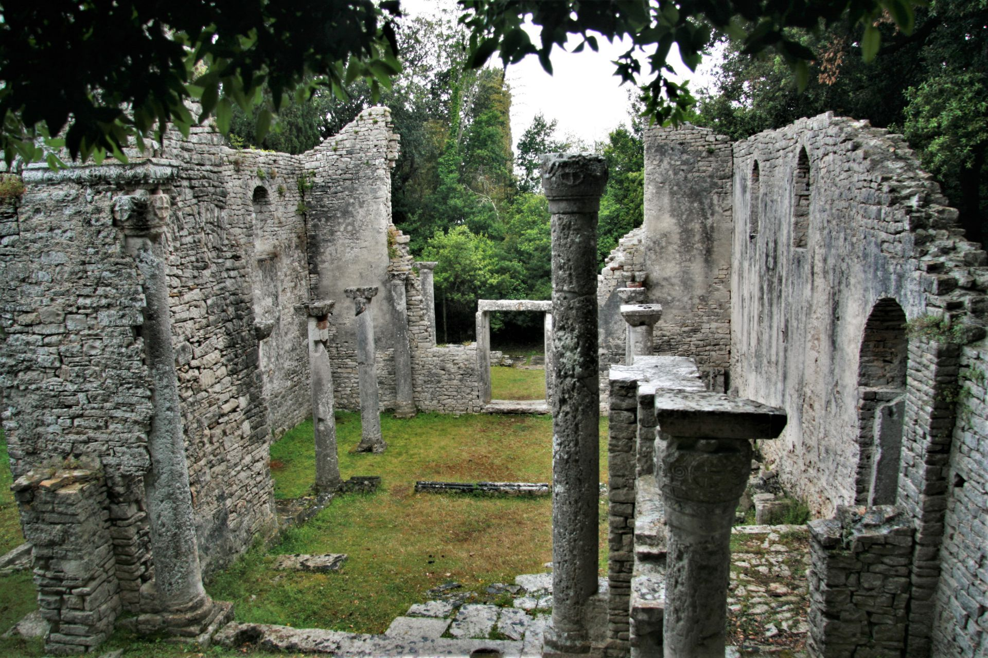 Istria places National park Brijuni sacral heritage