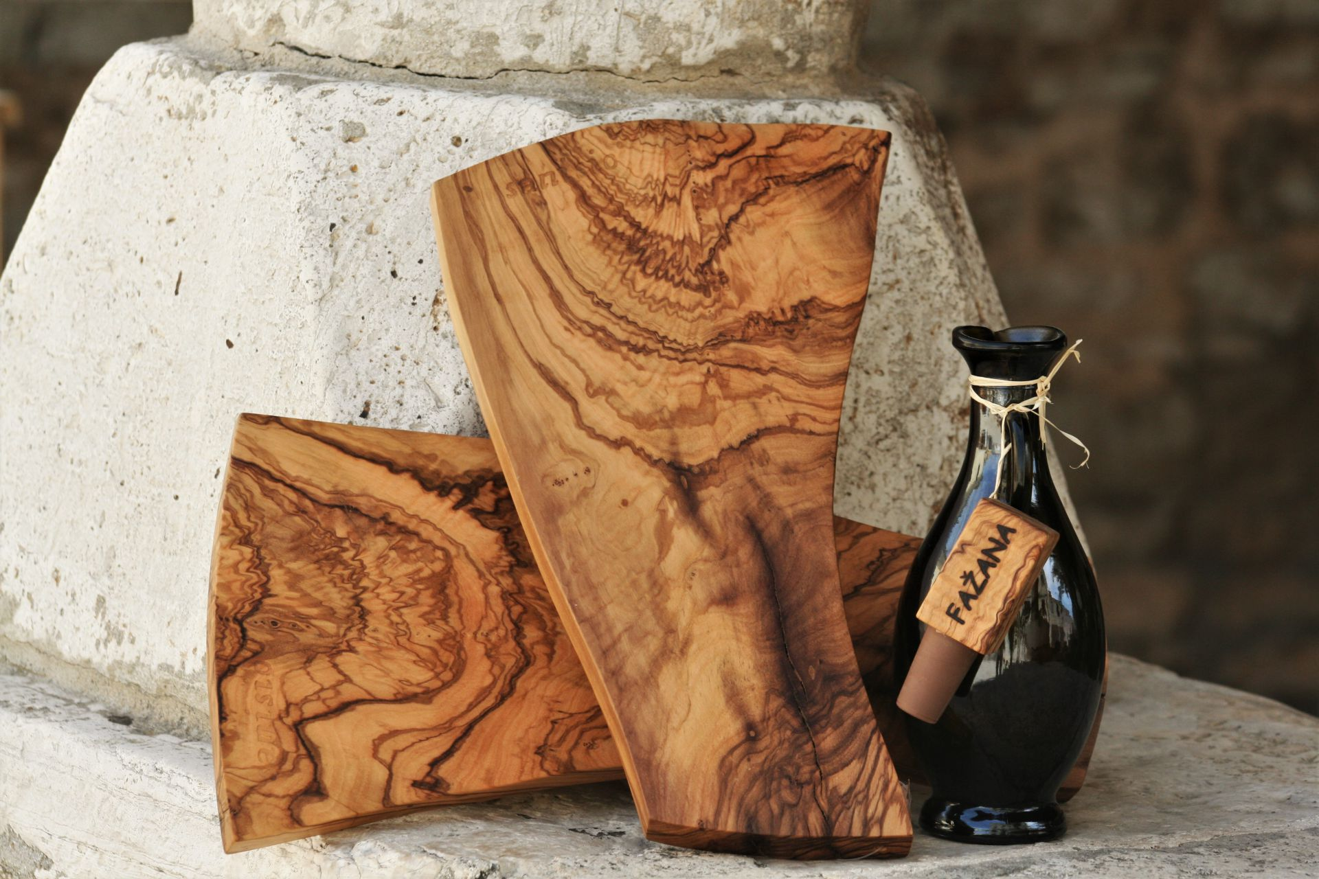 olive wood serving boards kitchen accessories handmade unique