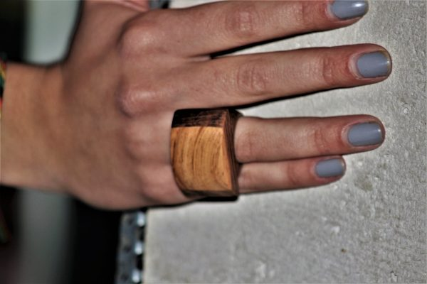 olive wood jewellery sanisio rings various wood