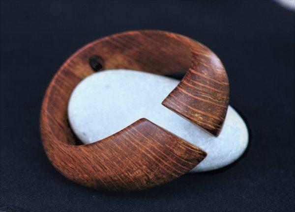 olive wood jewellery sanisio bracelet holm oak