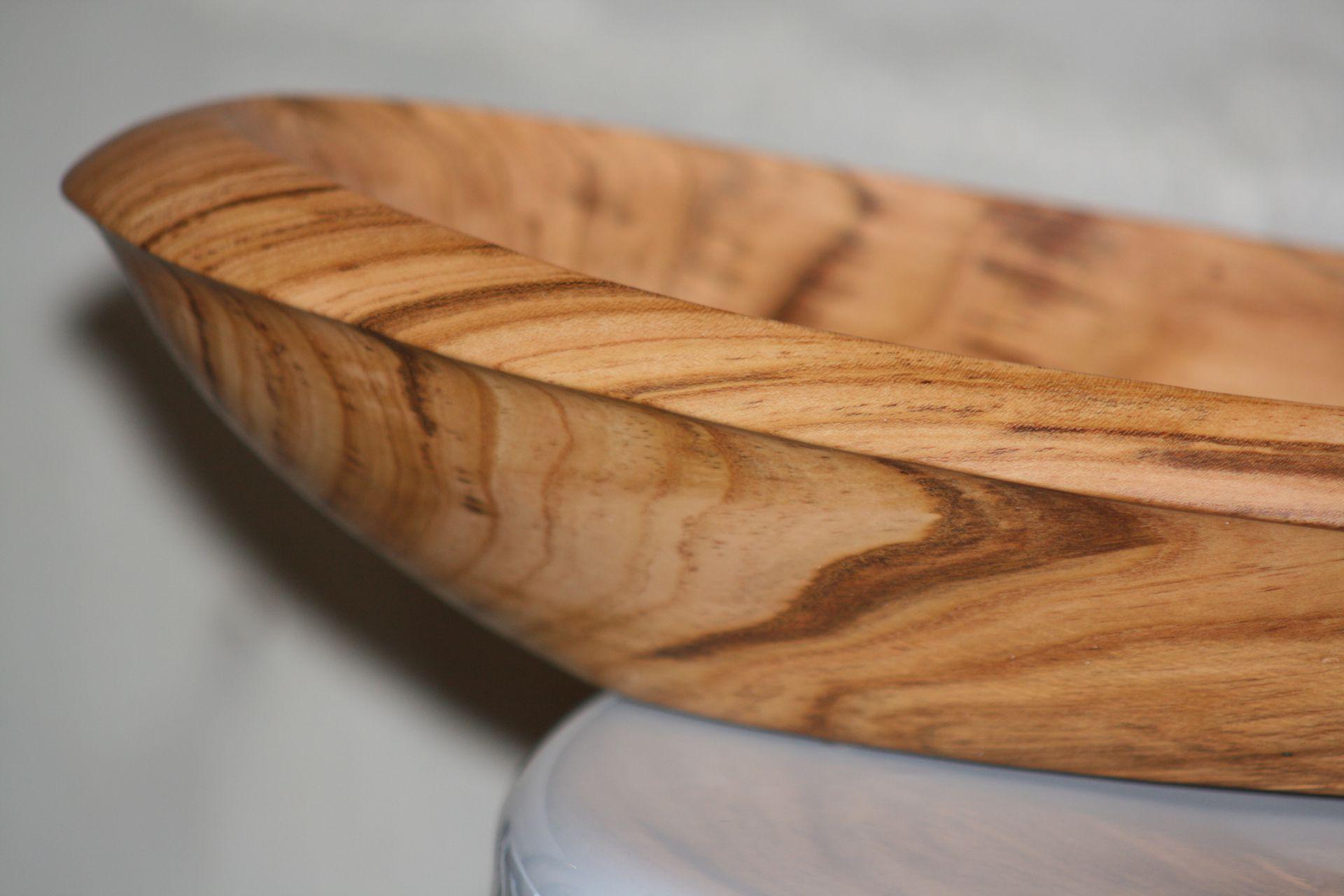 apricot wood bowl texture detail unique handmade sanisio artist design home detail