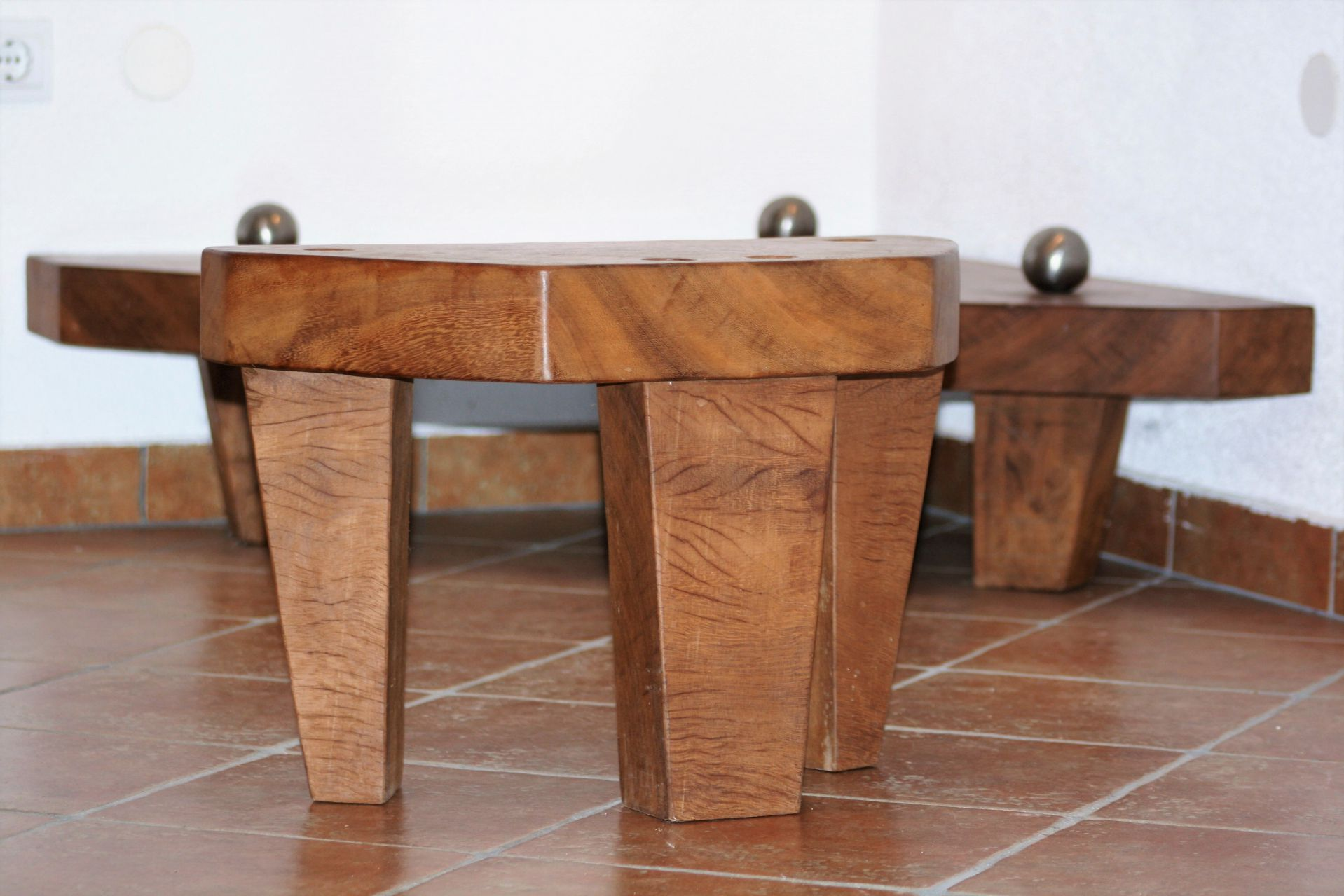 wood interior design art iroko wood african teak wood stool coffee table chair handmade unique artist design