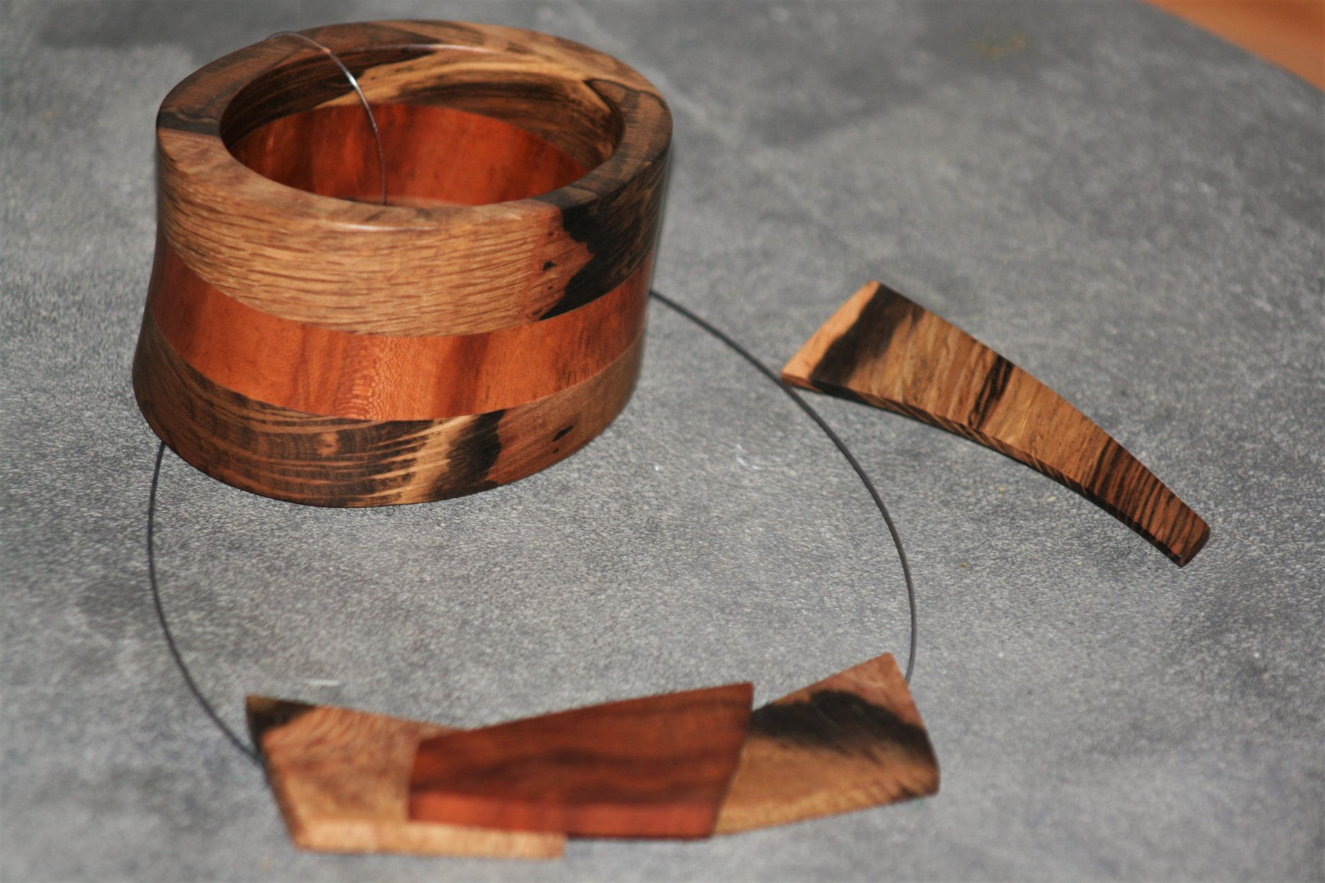 unique wooden jewellery sanisio various wood