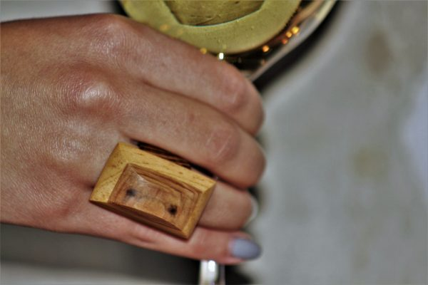 olive wood jewellery sanisio unique rings various wood
