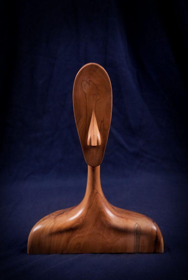 wood sculptures art handmade unique artist design Graceful Lucidness