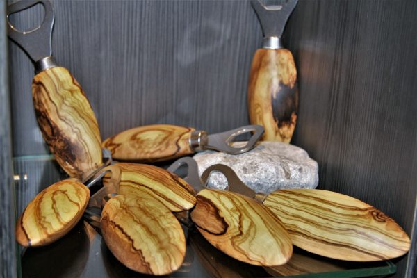 wooden kitchen accessories olive wood bottle openers for beer
