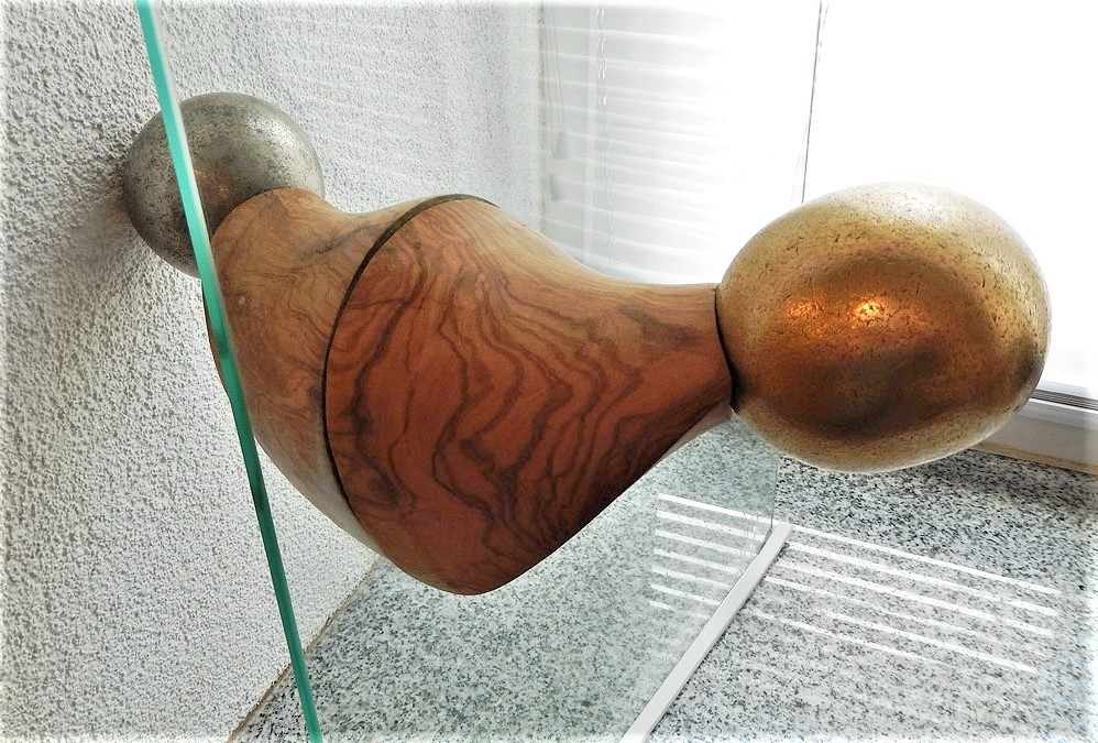 wood interior design art olive wood doorknob handmade unique artist design