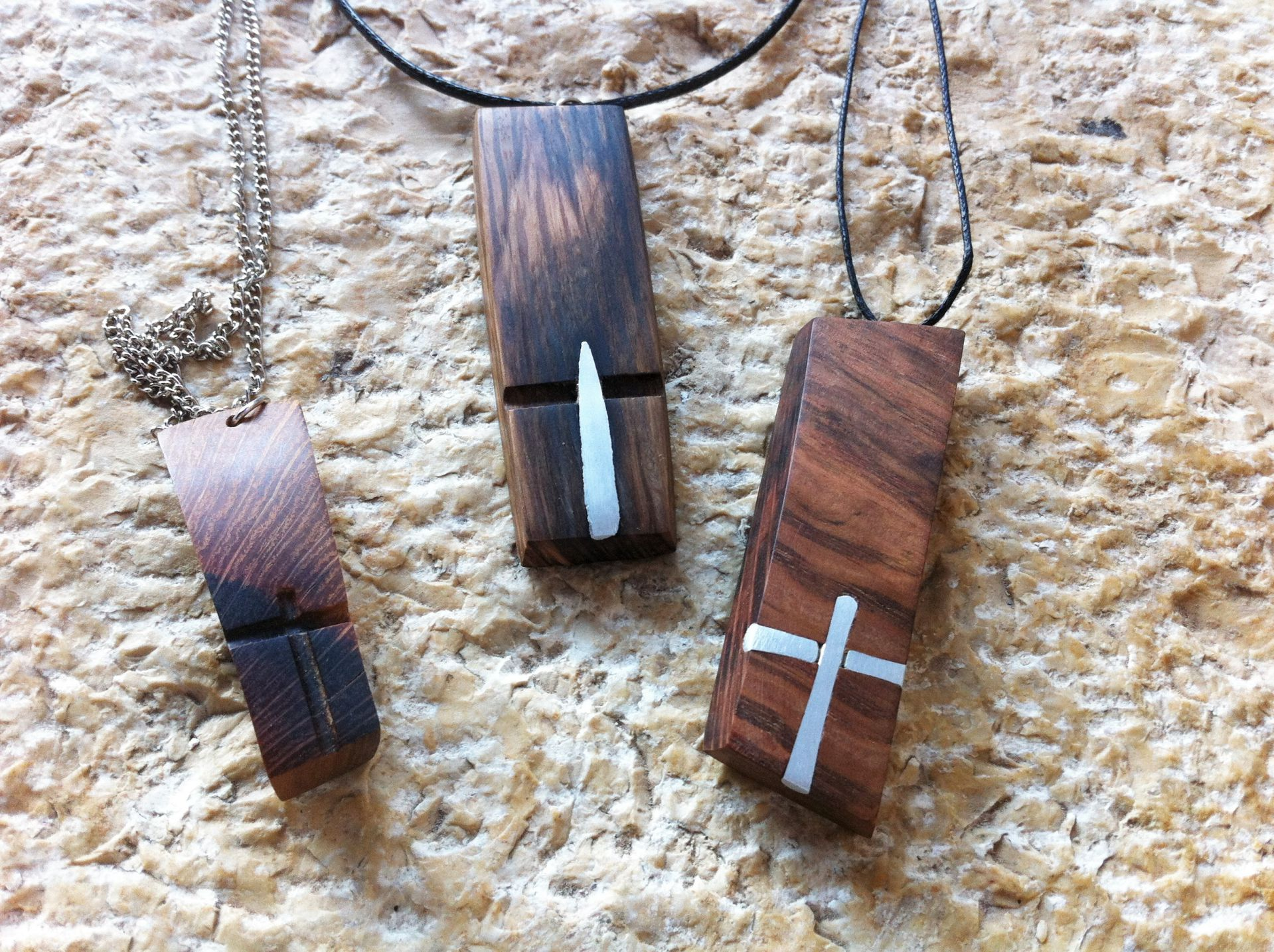 wooden necklaces pendants cross