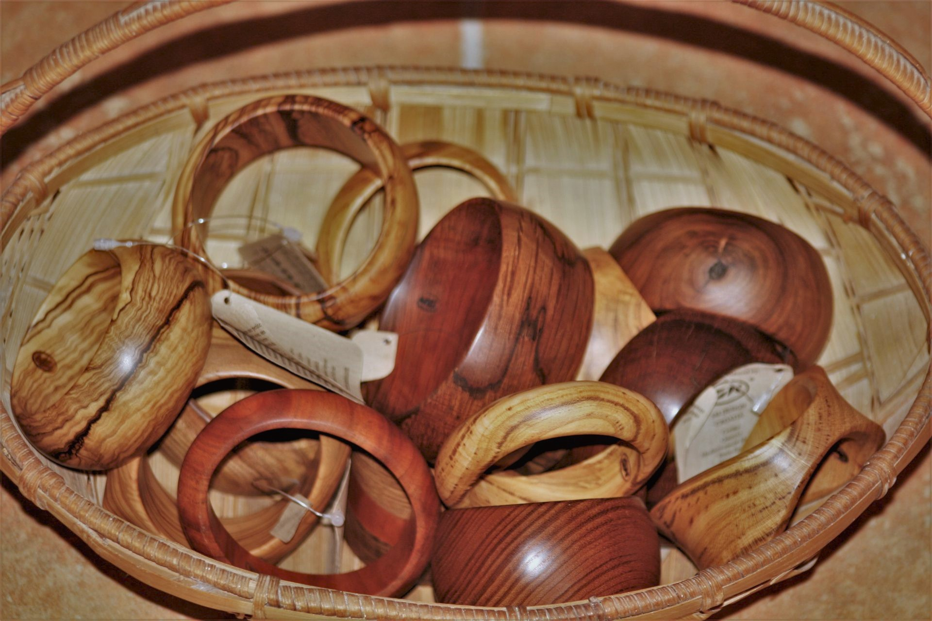 olive wood jewellery sanisio bracelets various wood