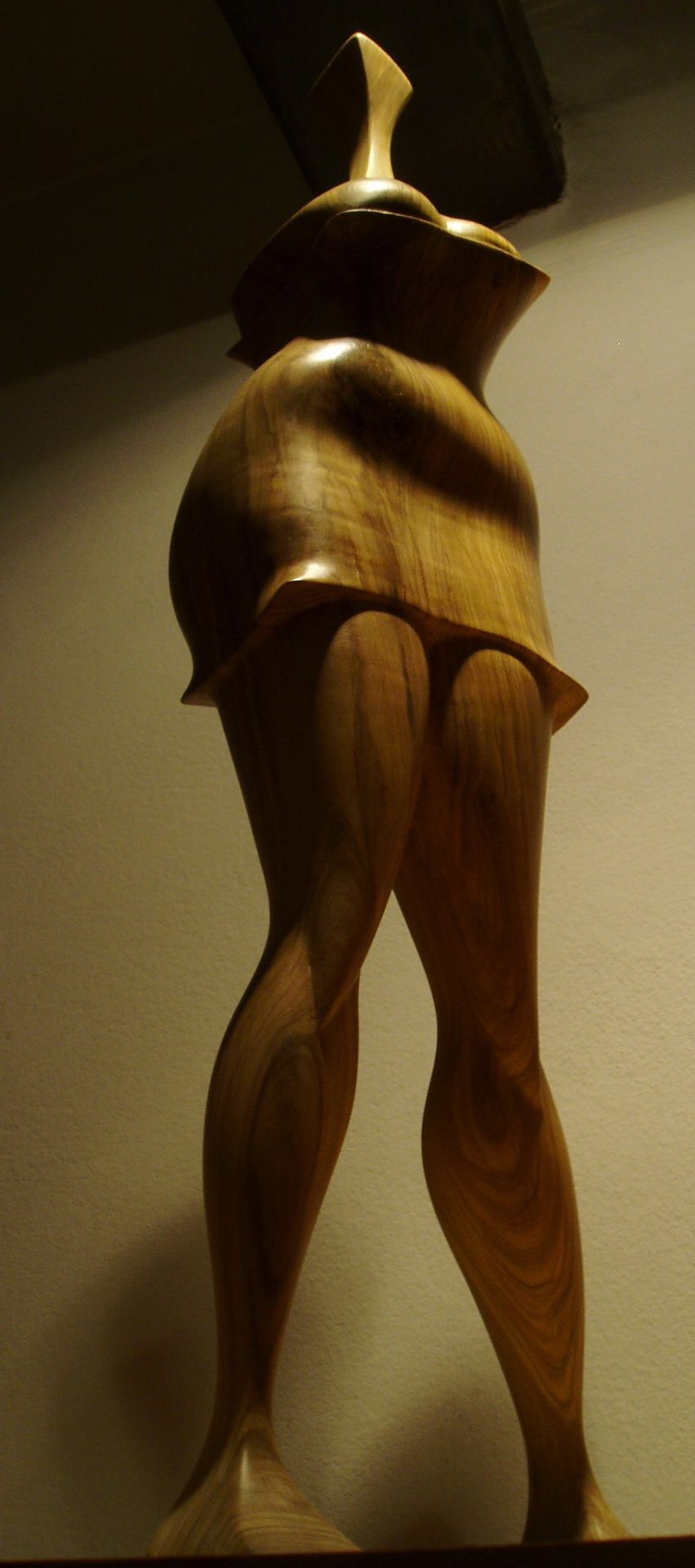 wood sculptures art expression olive wood handmade unique artist design Muse