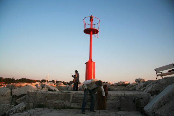 public areas Fazana Istria Feral lantern