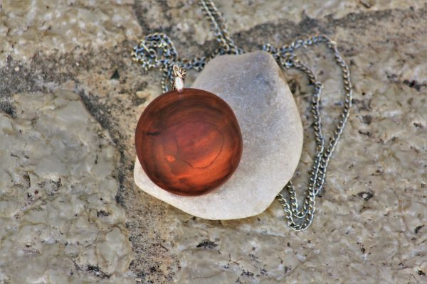 wooden necklaces pendant Globe